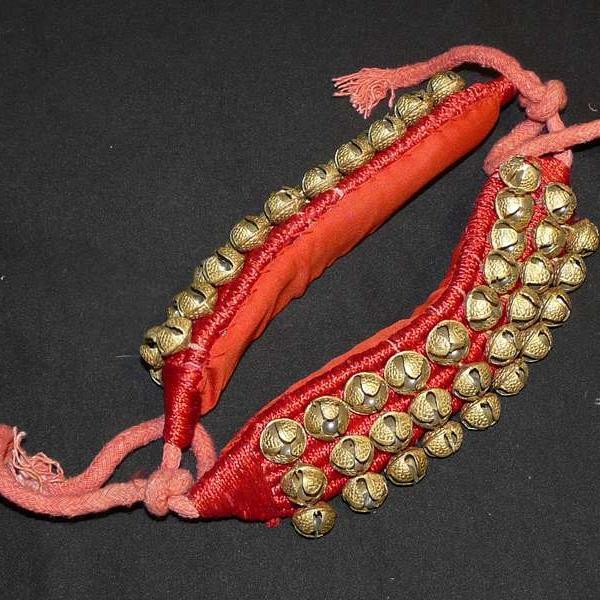 Bracelet à grelots / Ghungroo / Salangai - 3 rangs