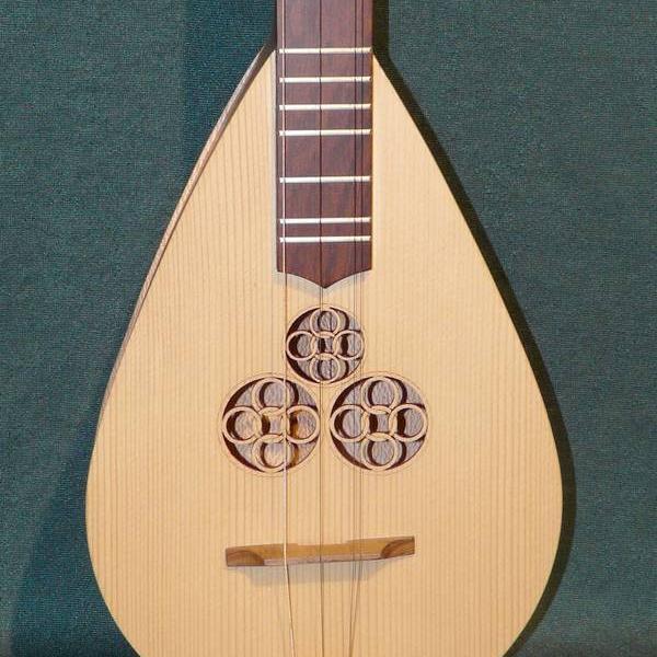 Bouzouki-Dulcimer - Modèle à 4 cordes