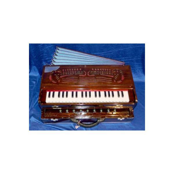 Harmonium - Modèle 2 voix - Portable - En valise