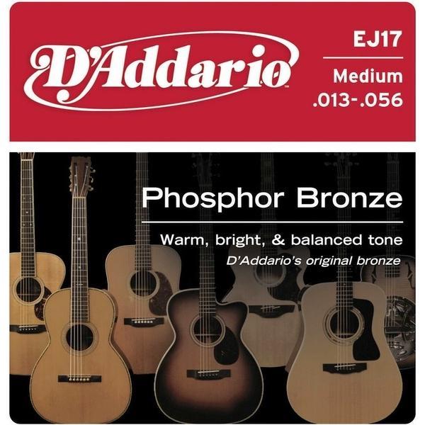 Jeu cordes Guitare Folk - D'Addario EJ17