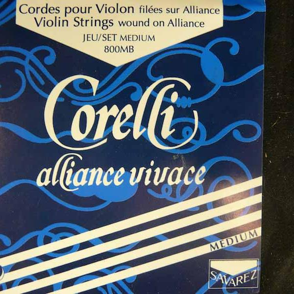 Jeu cordes Violon 4/4 - Corelli Alliance Vivace