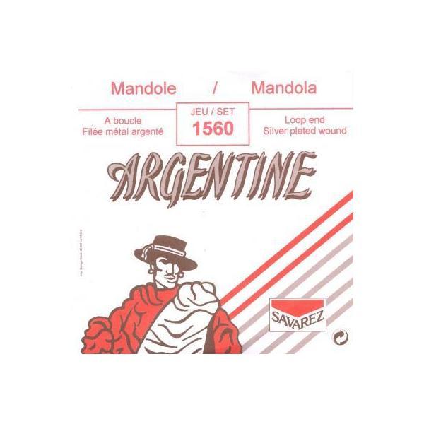 Jeu cordes Mandole Occidentale -Court-Argentine