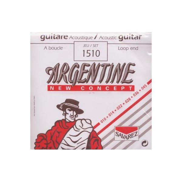 Jeu cordes Guitare Jazz - Boucle - Argentine XL