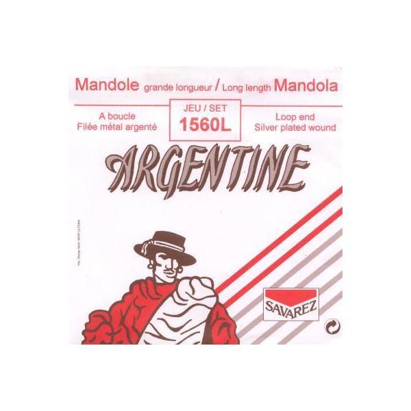 Jeu cordes Mandole Occidentale -Long -Argentine