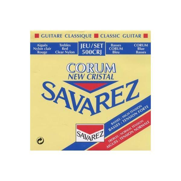 Jeu cordes Guitare Classique - Corum Rouge/Bleu