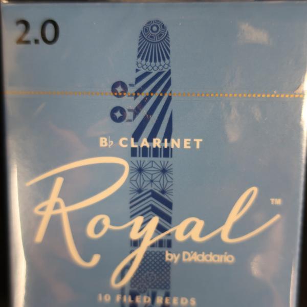 Anches clarinette sib -Royal par D'addario- 2