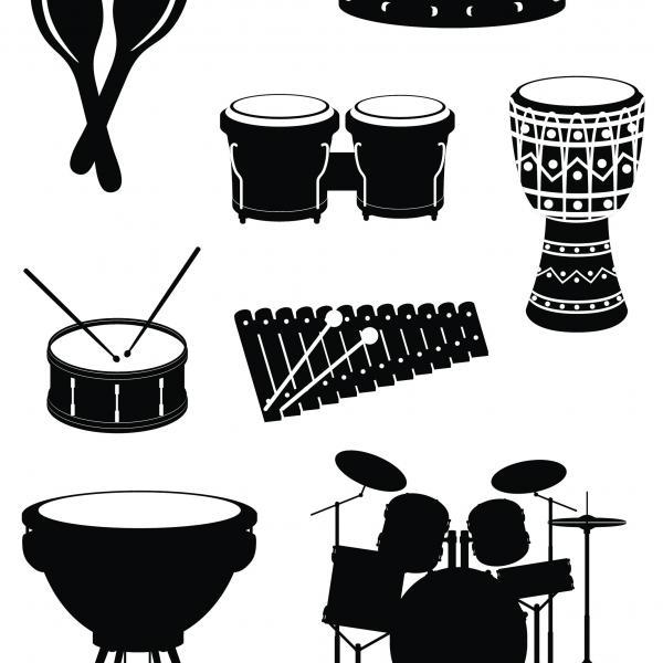 Pour percussions