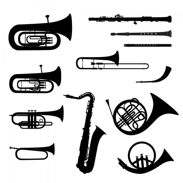 Pour instruments à vent