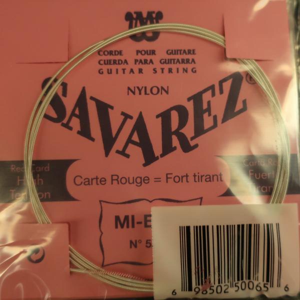 Jeu cordes Guitare Classique - Savarez Rouge